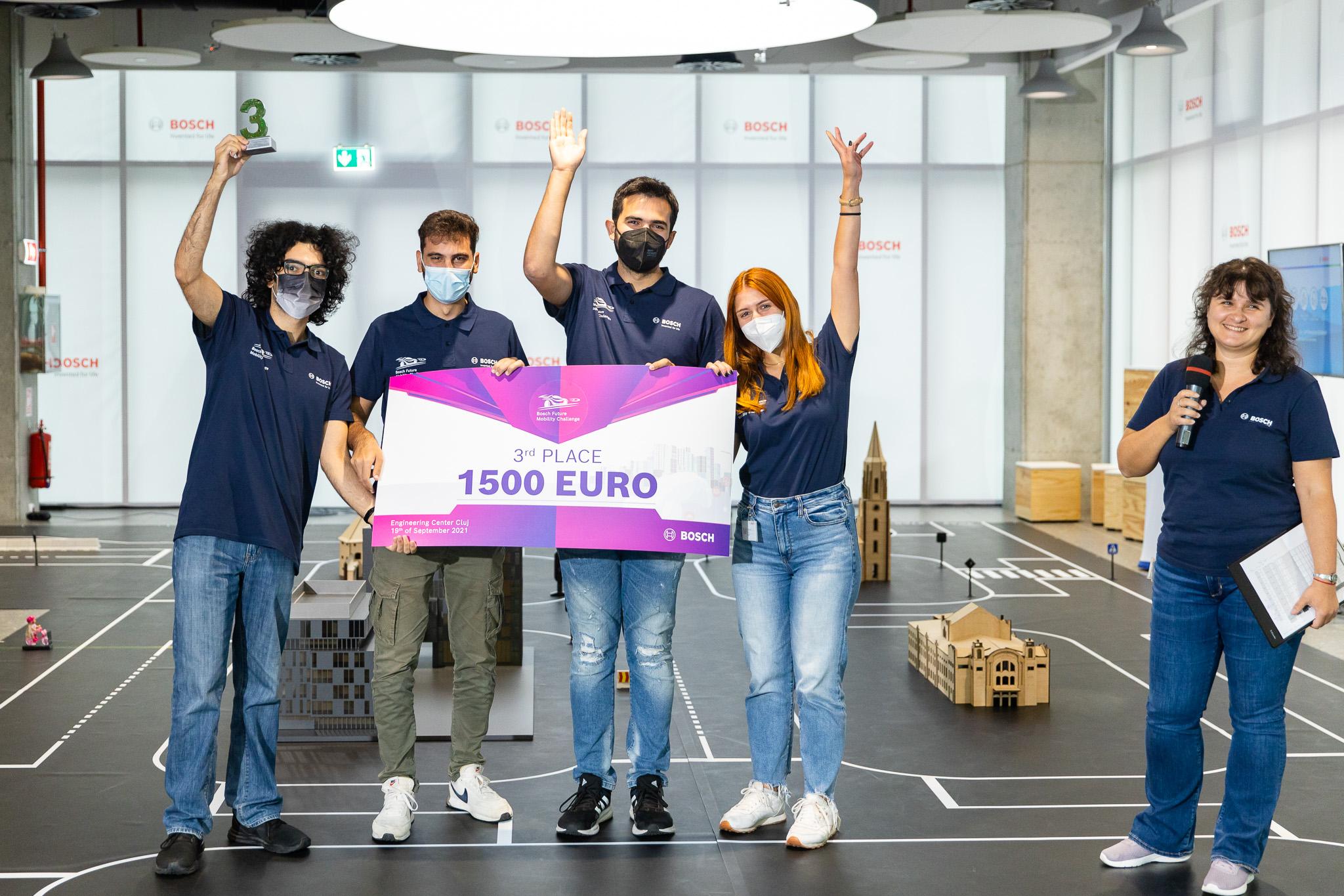 V.R.O.O.M team, Bosch Future Mobility Challenge